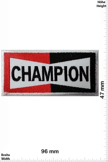 Patch - Champion - Motorsport - Ralley - Auto - Rennsport - Motorbike - Motorrad - Patches - Aufnäher Embleme Bügelbild Aufbü