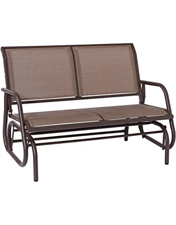 3a38461efef SUPERJARE Outdoor Swing Glider Chair