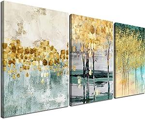 Gardenia Art Modern Wall Decor 3 Piece Canvas Wall Art 16