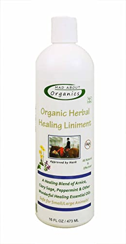 Mad About Organics Healing Liniment for All Pets 16oz