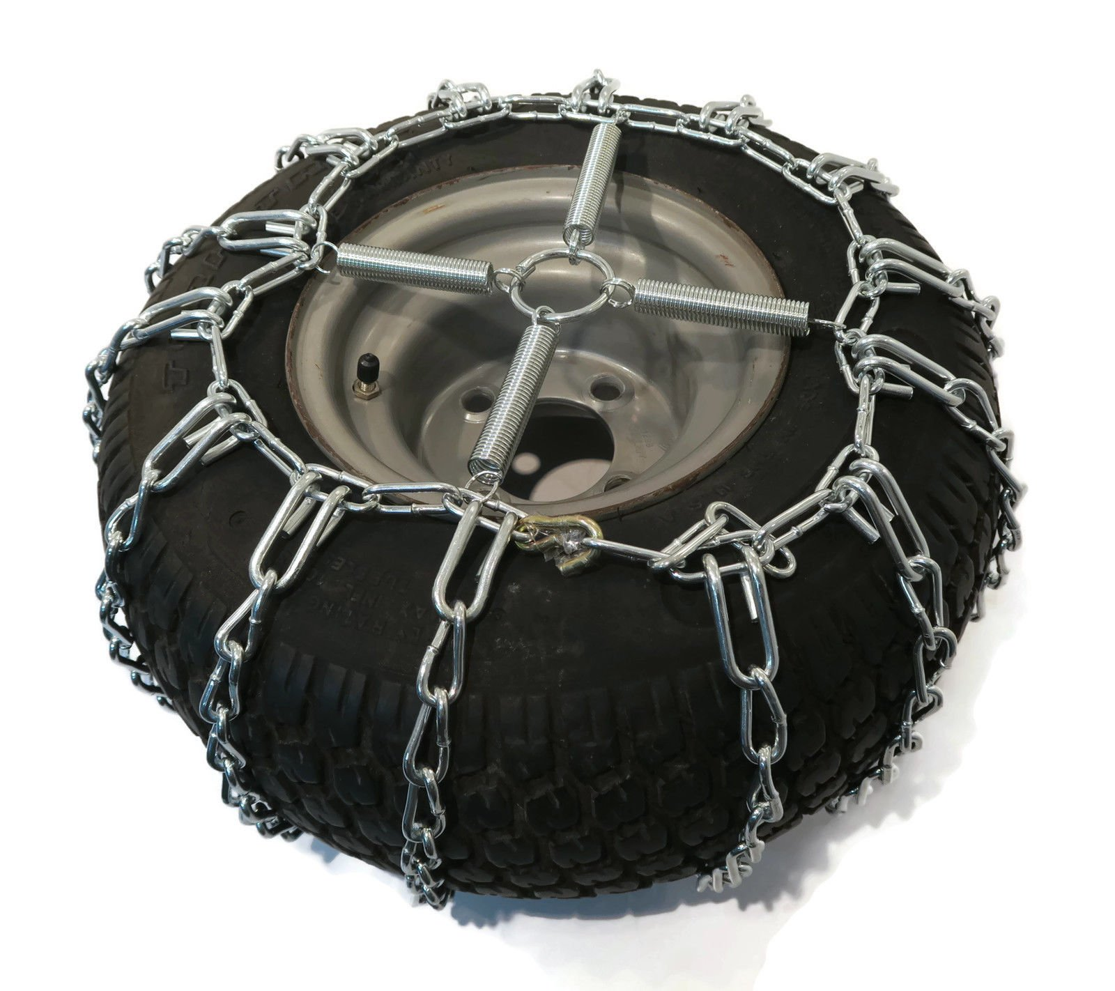 The ROP Shop 2 Link TIRE Chains & TENSIONERS 23x10.5x12 for MTD Cub Cadet Lawn Mower Tractor by The ROP Shop (Image #6)