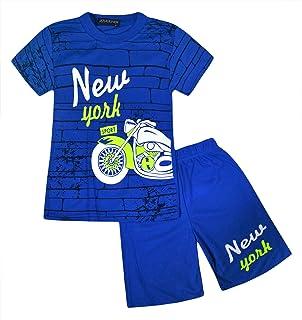 Baby /& Toddler Boy New York White Shorts Set