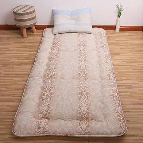 FUIOLWP colchón Acolchado/colchón Tatami/colchón/colchones Dormitorio Estudiante/./Cama