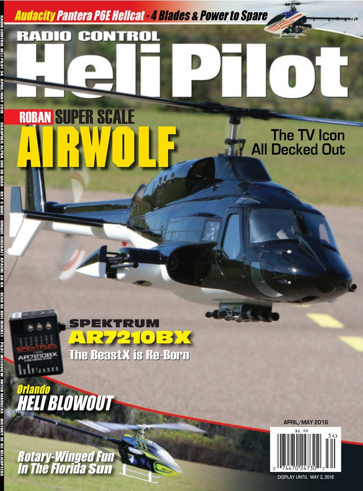 RC Heli Pilot April/May Issue: Various: Amazon com: Books