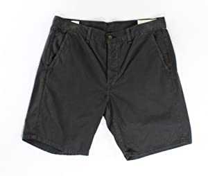 Rag & Bone Charcoal Mens Short Khakis Chinos Shorts Gray 38