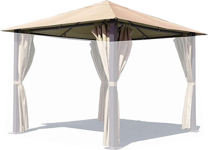 Quick-Star Repuesto para cenador (Paris tejado para Carpa (3 x 3 m Arena: Amazon.es: Jardín