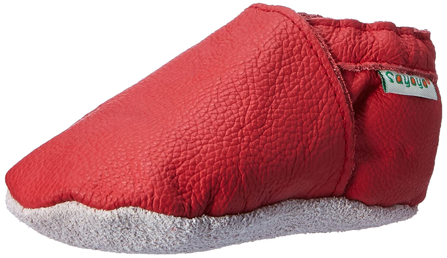 Sayoyo Lowest Best Baby Red Soft Sole Prewalkers Baby Toddler Shoes Cattle Cashmere Shoes