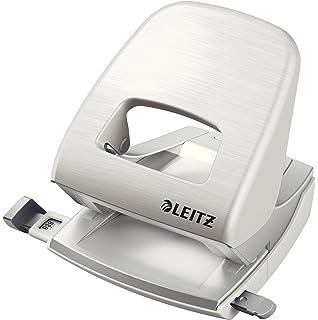 NeXXt Grau 30 Blatt 50080085 Metall Anschlagschiene mit Formatvorgaben Leitz Locher