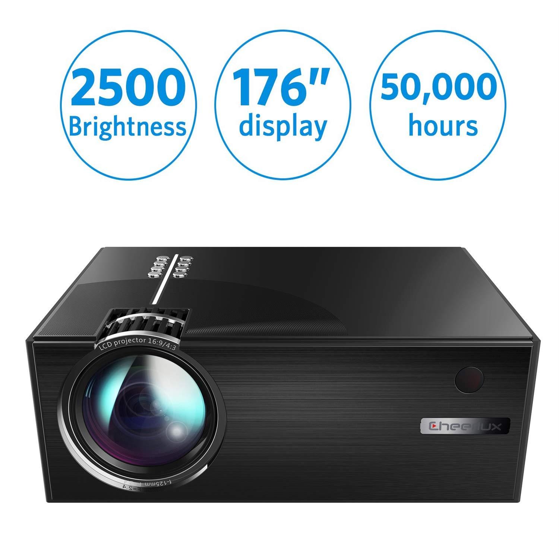 XINHUANG [Actualización 2019] Mini proyector, proyector LED Full ...