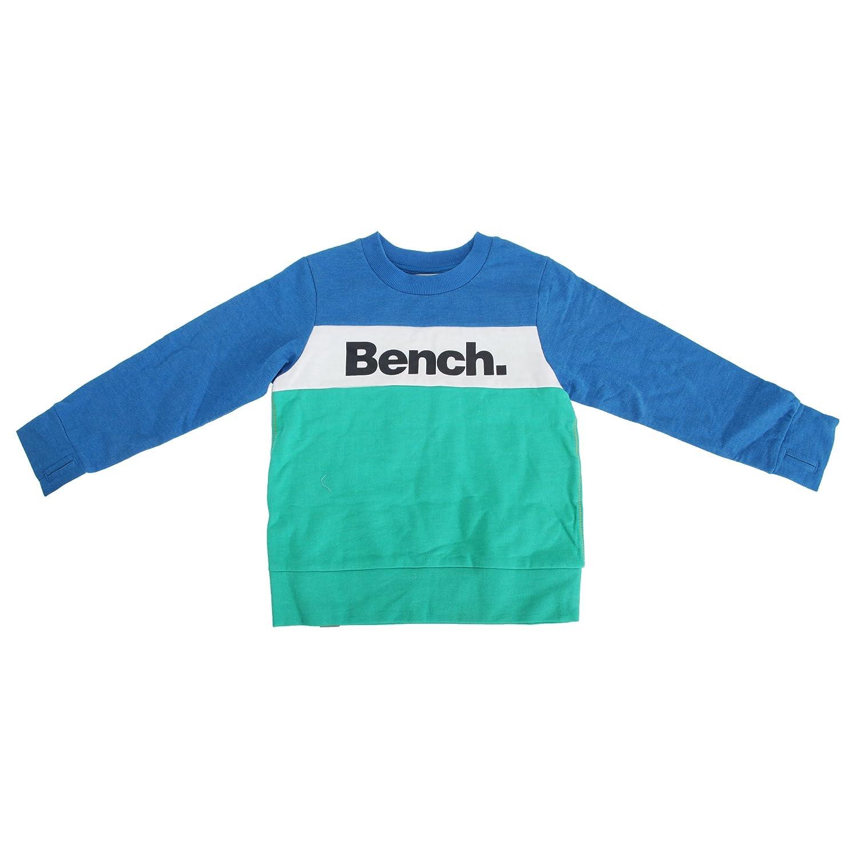 Bench Childrens/Boys Grip Logo Sweatshirt With Block Stripe