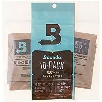 Boveda 58 Percent RH 2-Way Humidity Control, 8 gram - 10 Pack