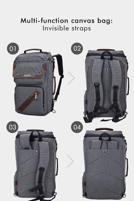 f6b53723bf50 Amazon.co.jp: WITZMAN 旅行用バックパック メンズ 防水 ナイロン リュックサック ノートパソコン用バックパック:  スポーツ&アウトドア