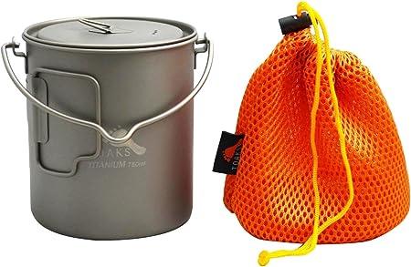 toaks Titanio puro Outdoor Viajes Jarra 150/ml 30ml y copa de vino