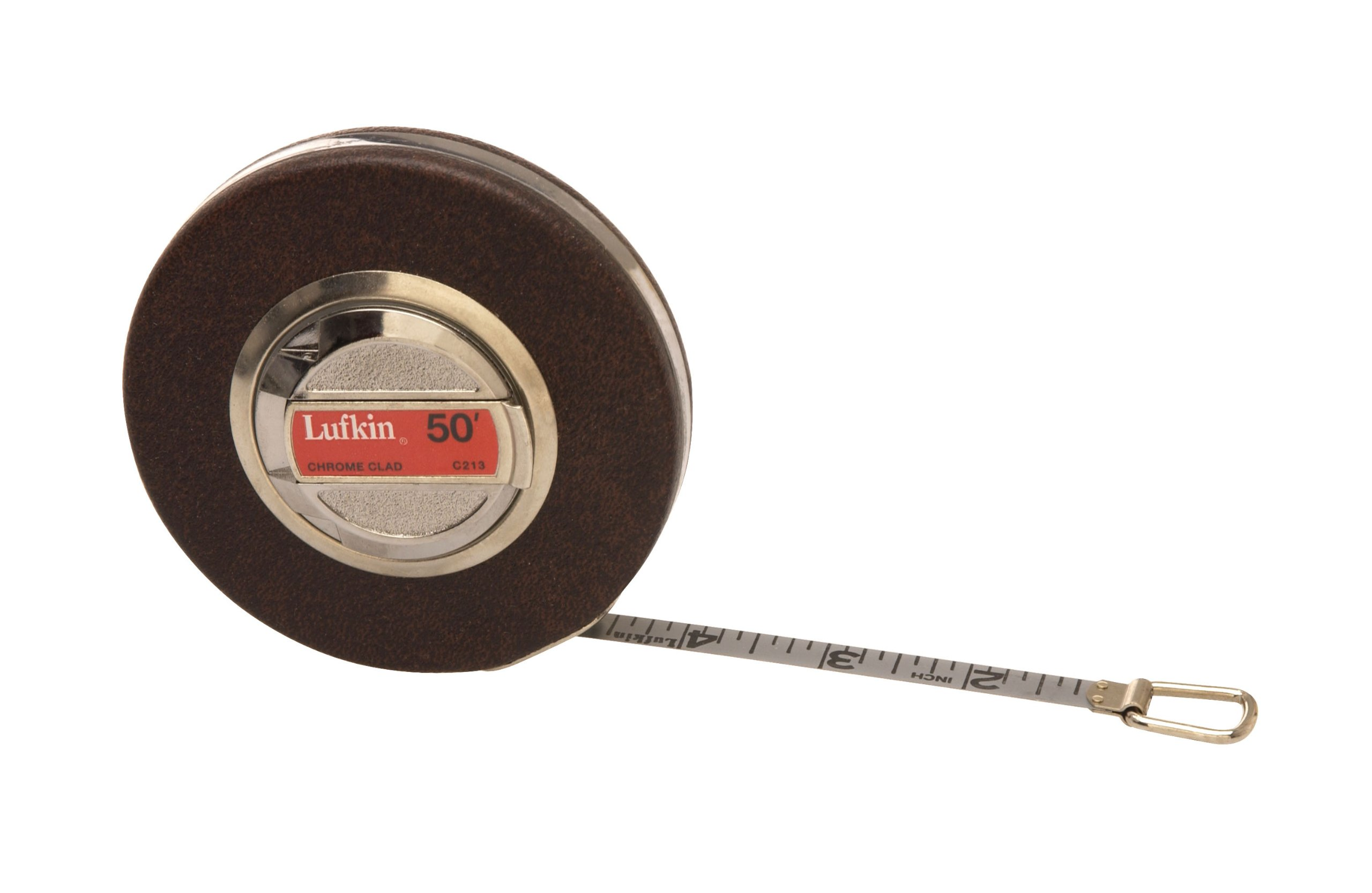 Lufkin C213 3/8-Inch by 50-Foot Anchor Chrome Clad Tape