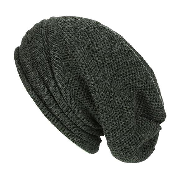 Venmo Männer Frauen Baggy Warm Häkeln Winter Wollstrick Skimütze