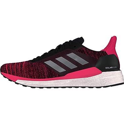 best service 06ca0 eb73f adidas Solar Glide W, Chaussures de Running Compétition Femme, Gris  (CarbonGritre