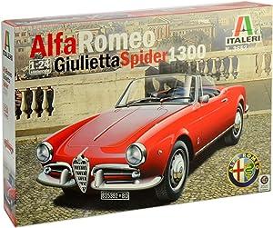 ITALERI 3653 1/24 Alfa Romeo Giulietta Spider 1300 Plastic Model
