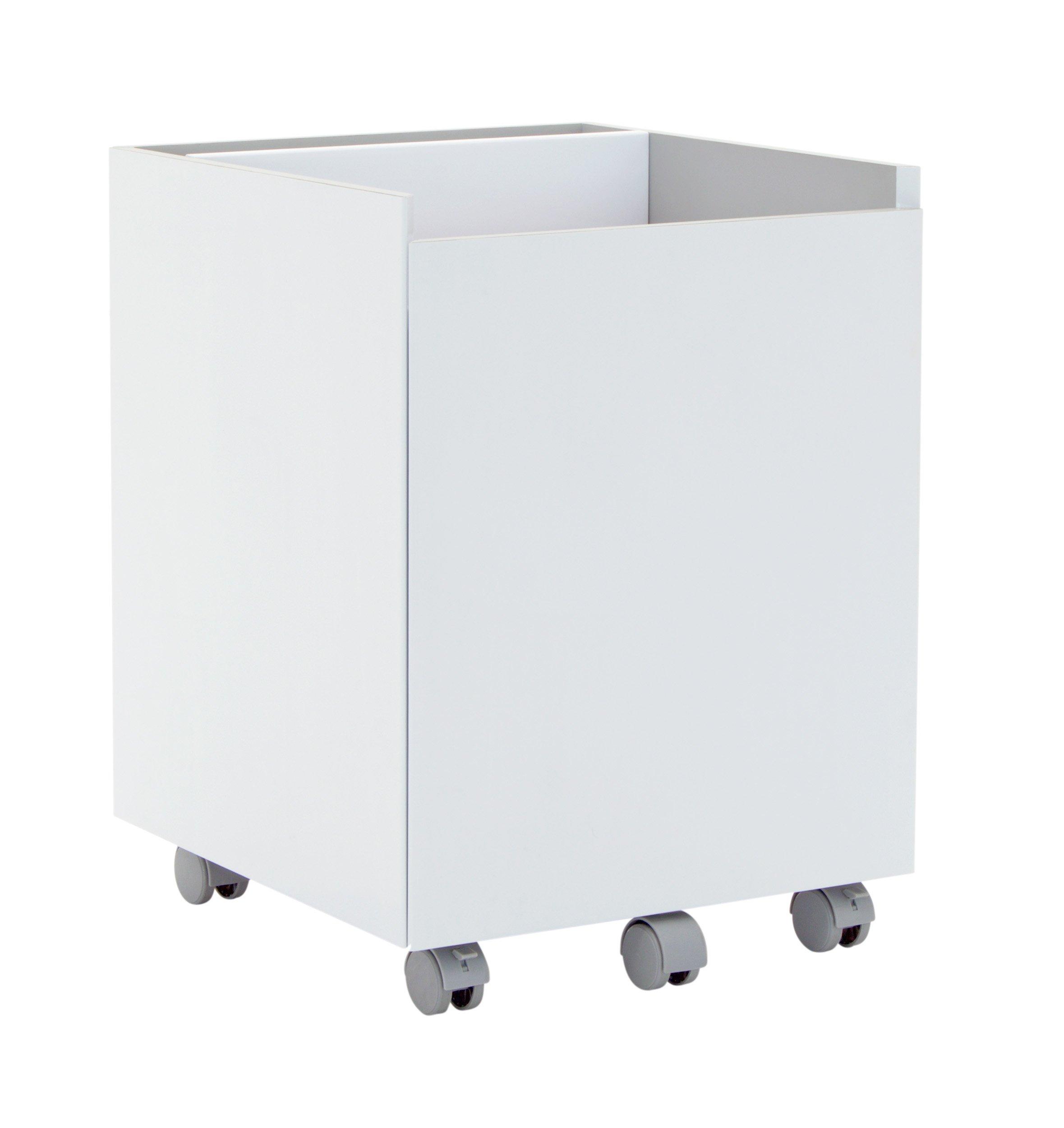 Calico Designs Niche Mobile File Cabinet, White by Calico Designs