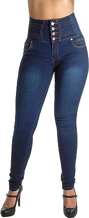 WG0059B - Plus/Junior Size Colombian Design Butt Lifting High Waist Skinny Jeans