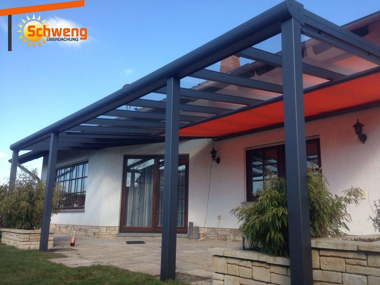 Alta calidad prikker-überdachungen schweng aluminio 16 PLACAS DE policarbonato mm B: 6,00 m x 4,50 m T: Amazon.es: Jardín