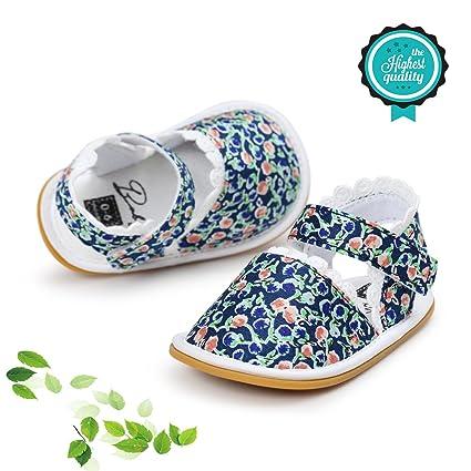 Zapatos de Bebé, Morbuy Unisexo Zapatos Bebe Primeros Pasos Verano Recién nacido 0-18 Mes Bebé Casual Verano Zapatos Suela Blanda Zapatillas ...