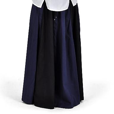 Ropa medieval - Falda medieval larga Estrella - negra y azul ...