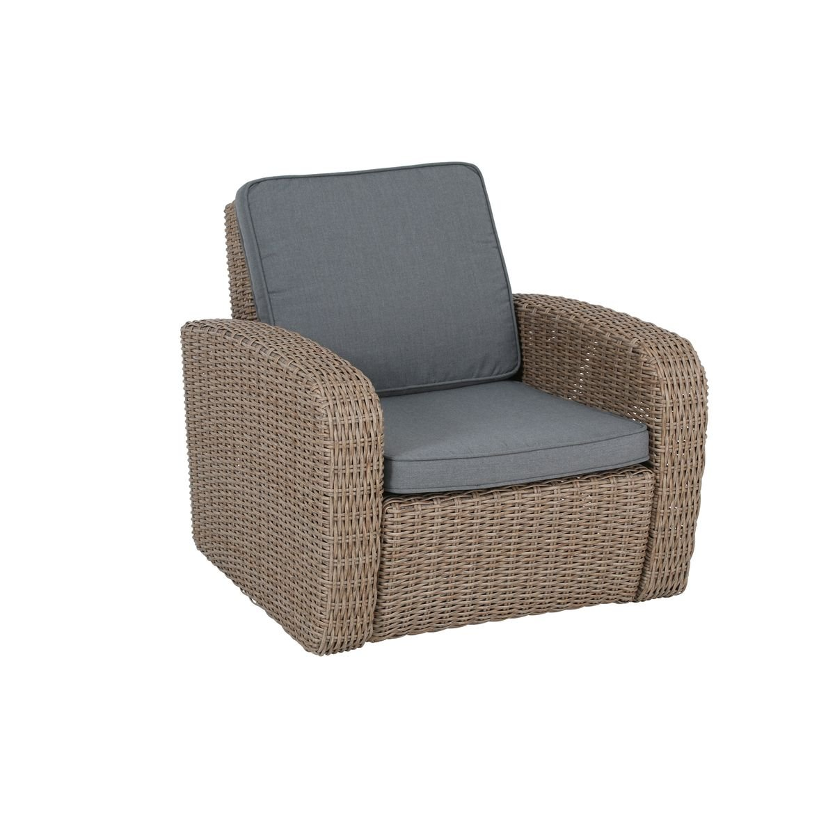 Lounge sessel terrasse  greemotion Rattansessel New York - Loungesessel mit Auflage in ...