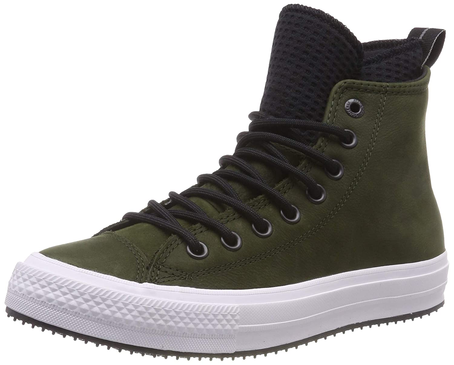 TALLA 37 EU. Converse Chuck Taylor All Star WP Boot, Zapatillas Altas Unisex Adulto, Verde (Utility Green/Black/White 316), 37 EU