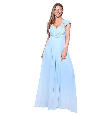 Krisp Womens Prom Maxi Dress Wedding Bridesmaid Evening Cocktail