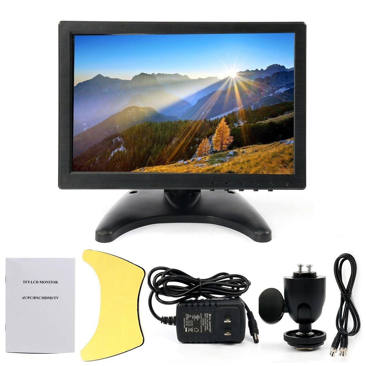 10.1'' HD USB Multi-Media Player IPS LCD 1280x800 HDMI AV BNC VGA TFT LED Monitor by YaeCCC (Image #2)