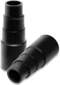 2 adaptadores de manguera adaptador adaptador reductor para conexión a la manguera de aspiradora para herramientas de Kärcher Bosch Parkside Makita Metabo Black & Decker: Amazon.es: Bricolaje y herramientas