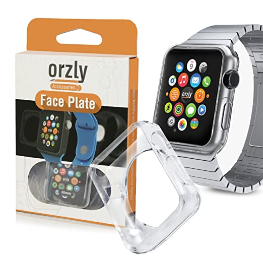 88 opinioni per Orzly®- FlexiCase FacePlate for APPLE WATCH (42mm)- Custodia Protettiva dal