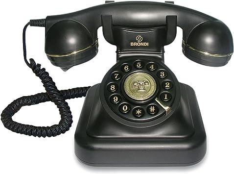 Tiptel Vintage 20 Negro Negro Tel/éfono
