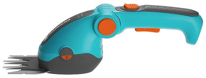 GARDENA ComfortCut Li 9856-20 Tijeras cortacésped con batería tijeras para bordes del césped con longitud de corte de 8 cm, cómoda empuñadura
