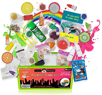 c66e64511a93 Original Stationery Ultimate Slime Kit: DIY Slime Making Kit with ...