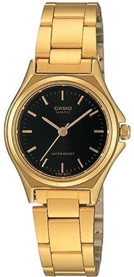 CASIO Reloj con Correa de Acero Inoxidable LTP-1130N-1A: Casio: Amazon.es: Relojes