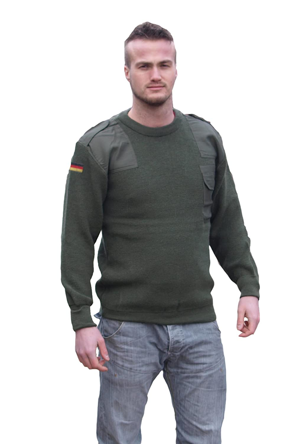 Genuine German Army Olive Green Combat Jumper