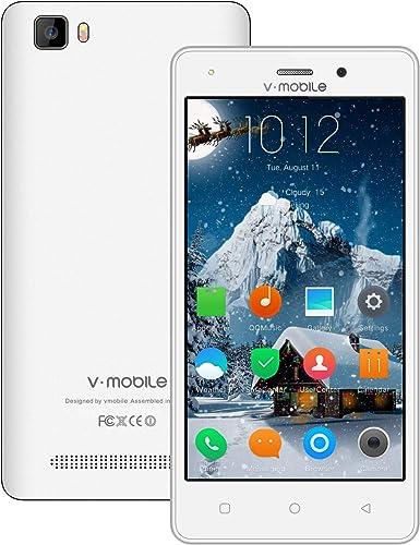 Teléfono celular desbloqueado V Mobile A10 4G Android 8.1, 5.2 ...