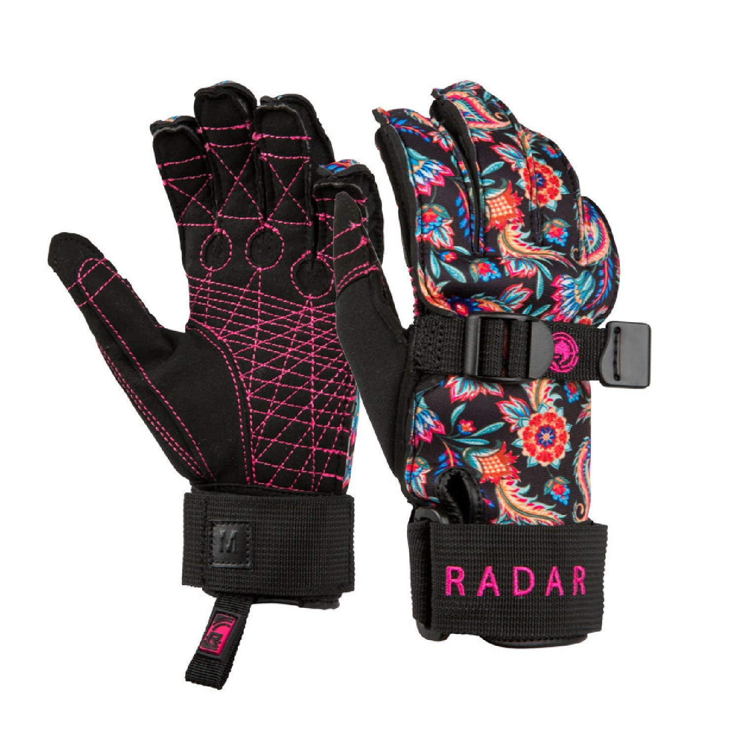 Radar 2019 Lyric Inside-Out Women's Waterski Gloves-Small by Radar