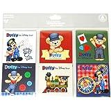 【ディズニー】 Disney ダッフィー ミッキー メモ帳 6種セット エンジニア おまけ付き 上海 SHDL 海外ディズニー限定