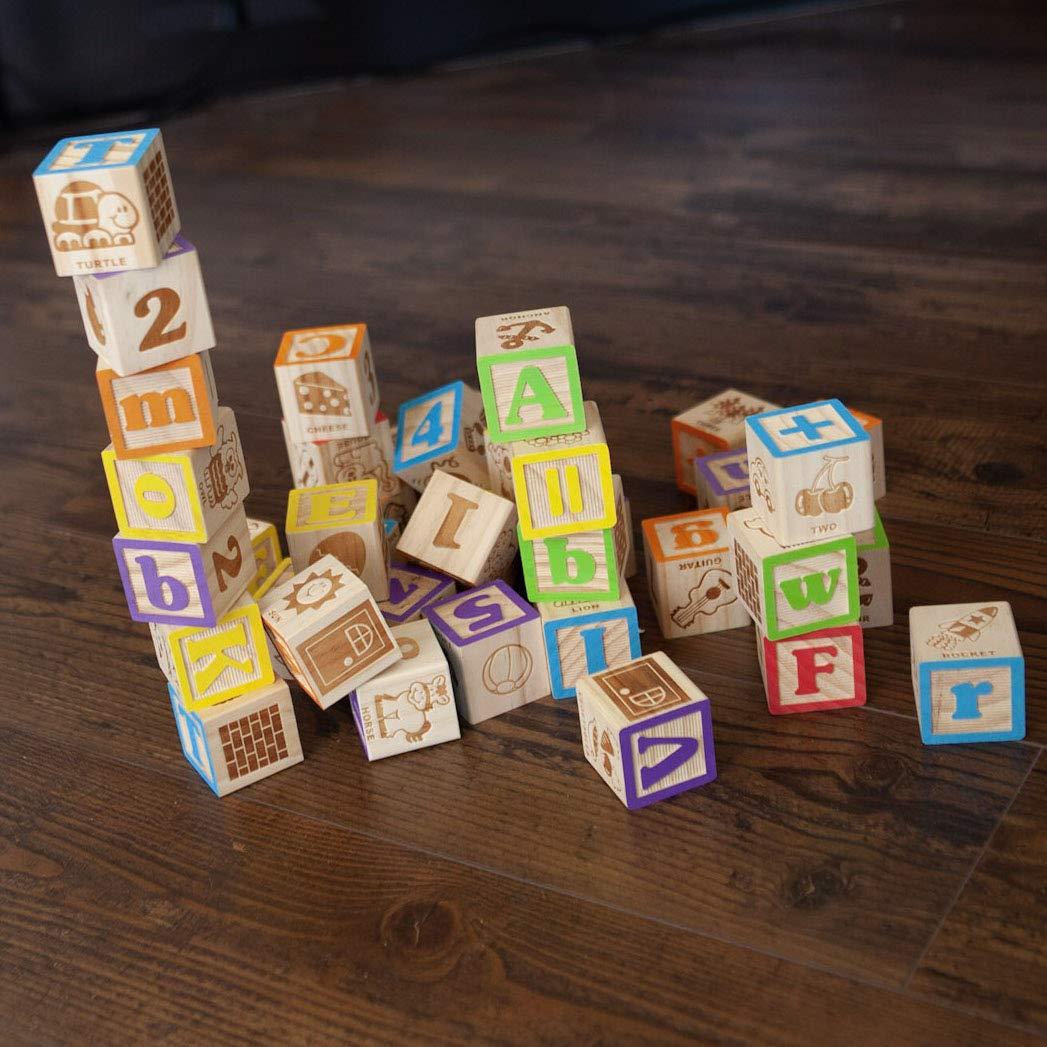 Fat Brain Toys Now I Know My ABCs Jumbo Blocks