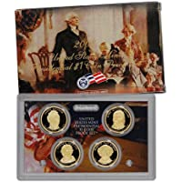 2008 S Presidential Dollar 4-coin Set in OGP with COA $1 Proof US Mint