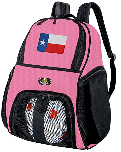 Las niñas Texas balón de fútbol mochila o - Pelota de Voleibol ...