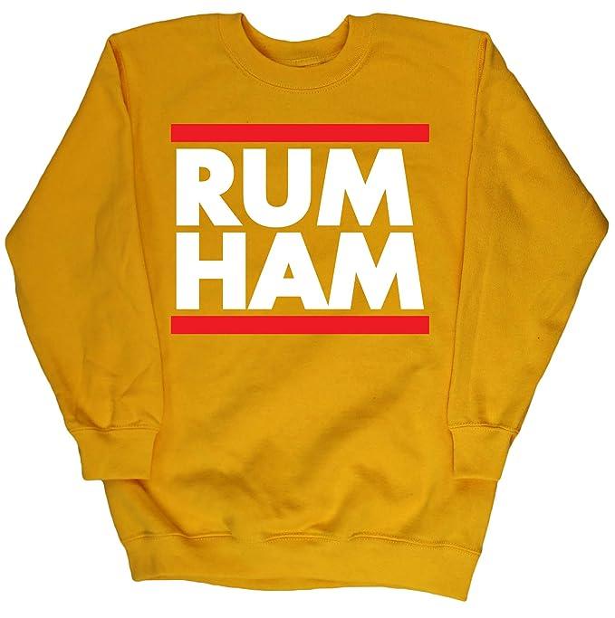 HippoWarehouse Rum Ham (Ron Jamón) jersey sudadera suéter derportiva unisex niños niñas: Amazon.es: Ropa y accesorios