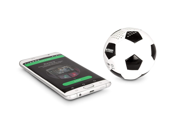 Urban Factory Altavoz portátil de balón de fútbol con Bluetooth ...