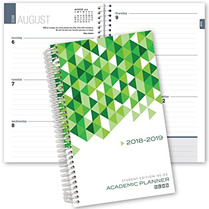 Elan Publishing Company Dated Student Planner For High