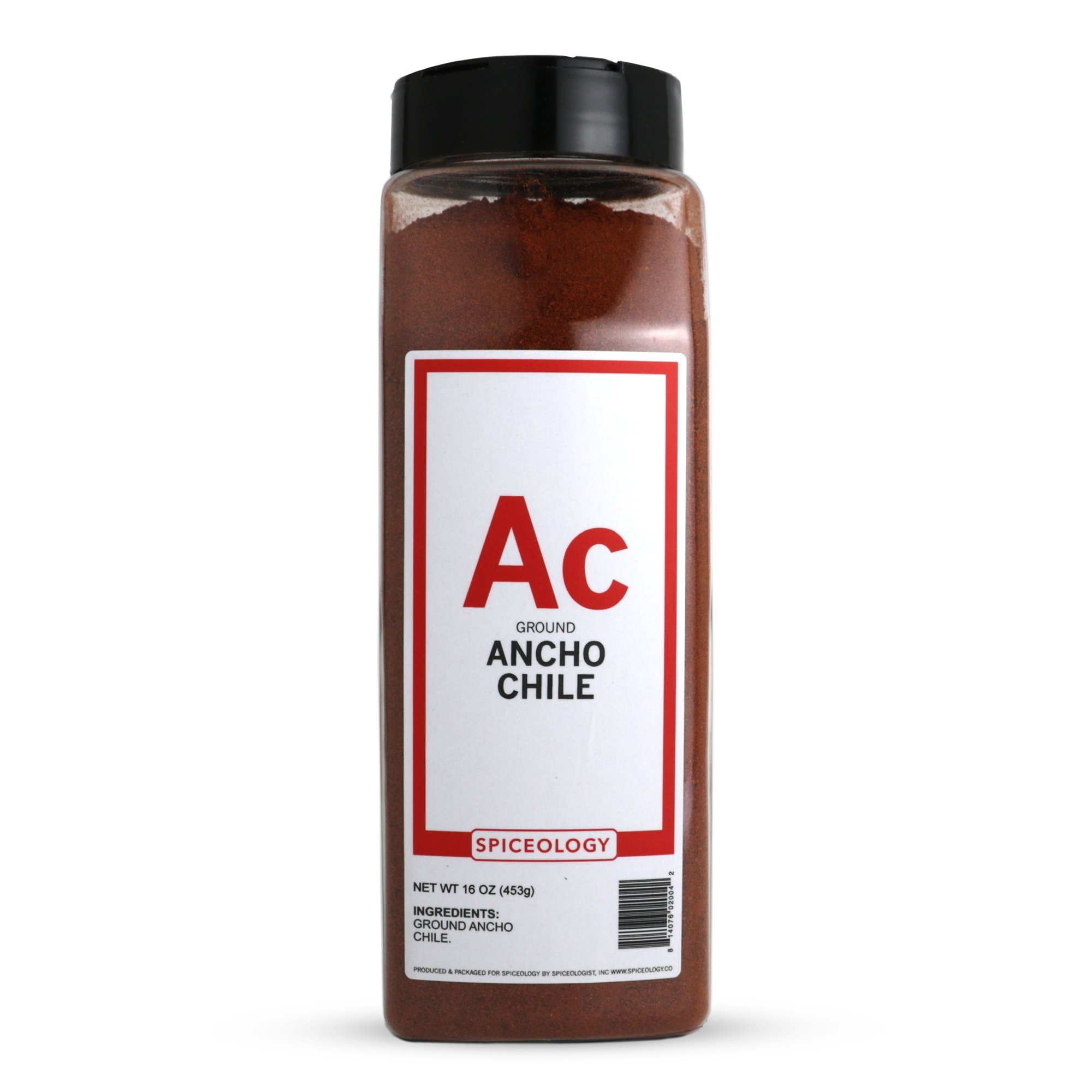 Spiceology Premium Spices - Ground Ancho Chile Powder, 16 oz