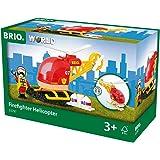 BRIO World - 33797 - HELICOPTERE DES POMPIERS