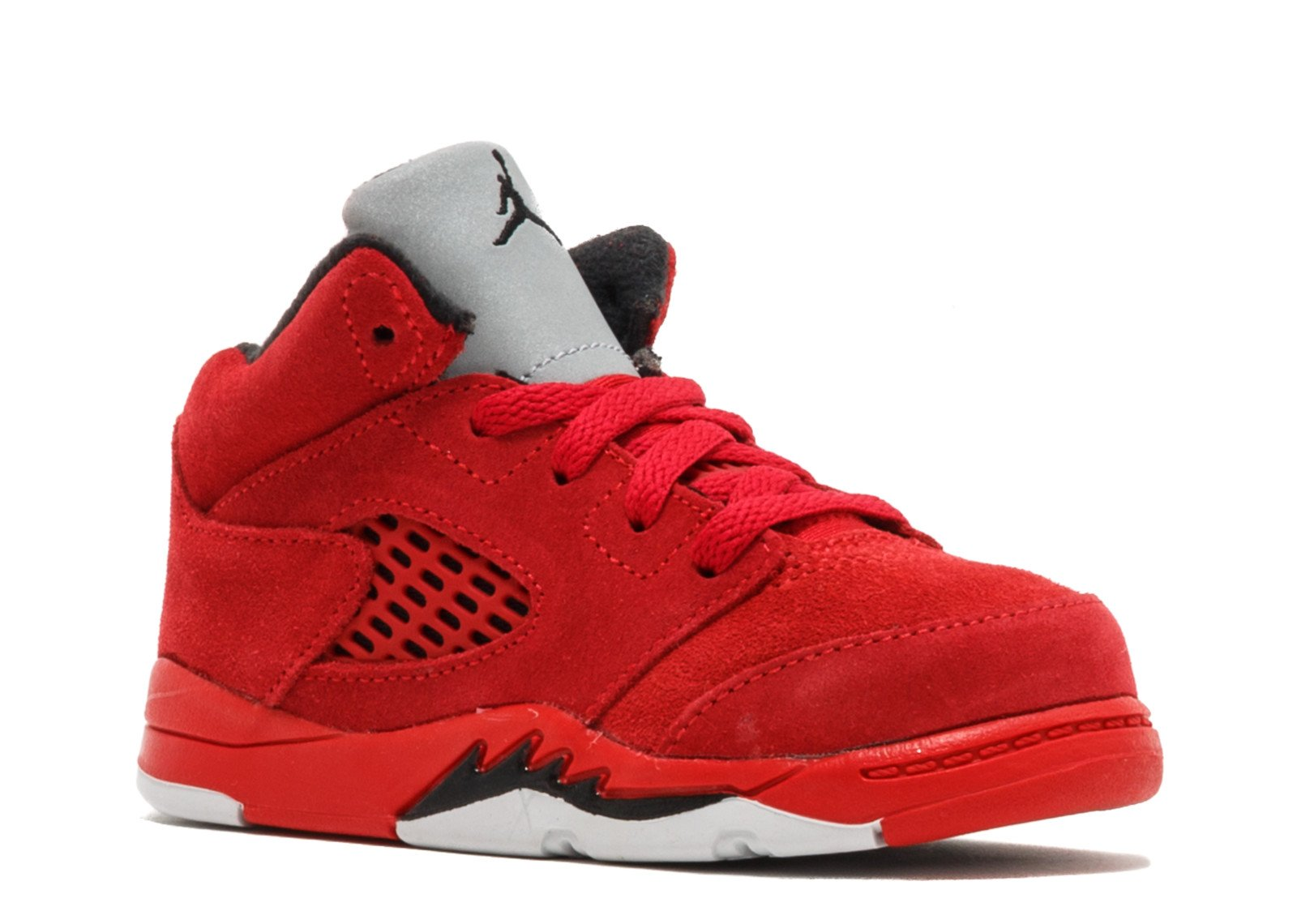 on sale c1bfc 336d1 Nike Kids Jordan 5 Retro BT University Red/Black 440890-602 (Size: 10C)