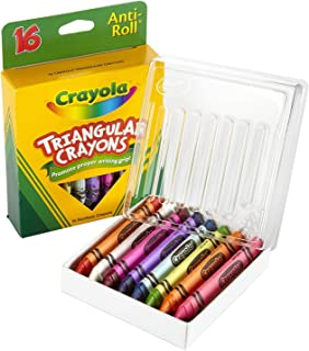 product image for Crayola Triangular Crayons, Box of 16